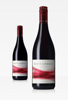 Red Cambria Heathcote Shiraz by Scott Matthews, via Behance wine / vinho / vino mxm #vinosmaximum