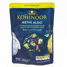 Buy Methi Aloo online from Spices of India - The UK's leading Indian Grocer. Free delivery on Methi Aloo - Kohinoor (conditions apply). Mango Powder Recipe, Garam Masala, Chana Masala, Aloo Curry, Rice Ingredients, Dried Mangoes, Curry Paste