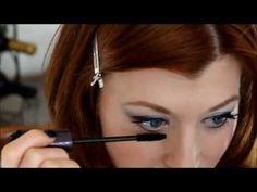 Black Widow (Iron Man) makeup Tutorial