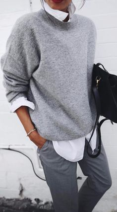 grey details ootd #fashionclothes,