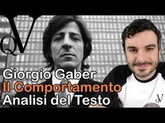 Giorgio Gaber, Il Comportamento, Analisi del testo - YouTube