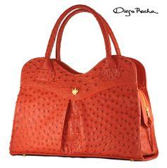 The Gigi Bag in Gerbera Ostrich