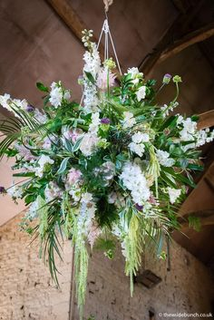 A Cripps Barn hanging basket design by top Bristol Wedding florists The Wilde Bunch. These designs add a real 'wow' to the ceremony barn Cripps Barn Wedding, Barn Wedding Venue, Barn Wedding Flowers, Stone Barns, Florists, Hanging Baskets, Bristol, Wedding Centerpieces, Tablescapes