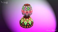 3d origami - lamp