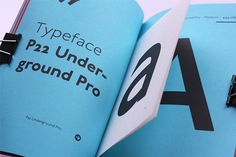 Typespecimen: P22 Underground Pro on Behance