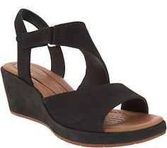 29cd617c1f3 As Is Clarks UnStructured Leather Sandals-Un Plaza Sling