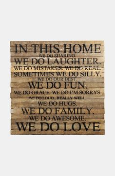 Free shipping and returns on Second Nature by Hand Repurposed Wood Wall Art at Nordstrom.com. Rustic wall art handcrafted from wood repurposed from 100-year-old tobacco laths found on Wisconsin farms features a list of rules to keep your household fun, light and full of love.