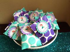 Ariel Mermaid party Birthday Party Ideas | Photo 1 of 20 | Catch My Party