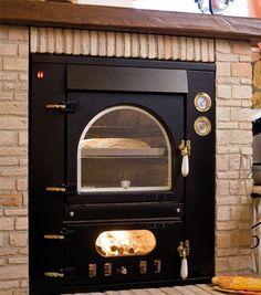 Forno a legna da incasso #Clementi Master www.clementisnc.it - #oven #craftmanship