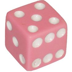 dice....oops, another pink one. Sorry. Couldn't help myself.