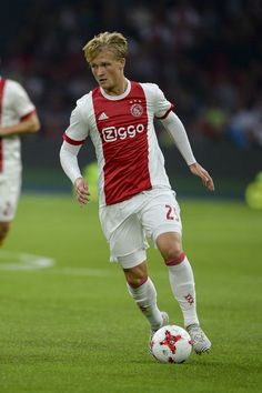 .Kasper Dolberg from AJAX during the UEFA Champions League Qualifying Third Round: Second Leg match between AJAX Amsterdam and OSC Nice at Amsterdam Arena, on August 2, 2017 in Amsterdam, Netherlands.