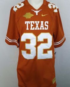 472b805ceeac Nike Texas Longhorns  32 Gray 2013 Red River Rivalry Limited Football  Jersey L