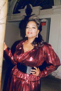 All About Oprah - Oprah Winfrey in Lanvin.