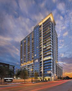 The Sovereign at Regent Square.  A modern high rise oasis where luxury reigns and you rule.  www.TheSovereignHouston.com
