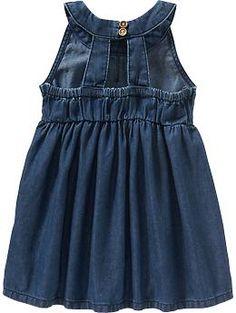 Sleeveless Denim Dresses for Baby | Old Navy