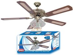 MAX VENTILATORE SOFFITTO RATTAN 5 PALE http://www.decariashop.it/home/11492-max-ventilatore-soffitto-rattan-5-pale.html