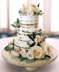 Wedding cake idea; Featured Photographer: Untamed Heart Photography