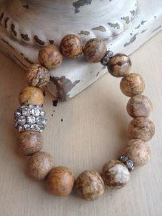 Bohemian Gemstone Rustic Glam Vintage by MarleeLovesRoxy on Etsy, $45.00