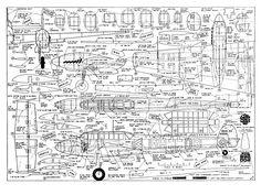 Messerchmitt Bf110 - plan thumbnail