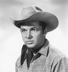 Audie Murphy ...  Actor in 33 western movies ... Most decorated hero of WWII ...