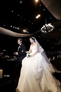 LEE BYUNG HUN & LEE MIN JUNG TIED THE KNOT