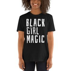 Black Girl Magic T-Shirt Black Power T-shirt Black Proud Shirt Black Female Empowerment T-Shirt Black Woman T-Shirt #BlackMagicTShirt #BlackQueenShirt #GirlMagicTShirt #BlackQueenTShirt #BlackGirlMagic #BlackMagicShirt #BlackProudTShirt #BlackMagicTee #BlackMagicWoman #BlackWomanTShirt Taco Shirt, T Shirt And Shorts, Birthday Shirts, Funny Birthday, 50th Birthday, Black Girl Magic, Shirt Designs, Just For You, Short Sleeves