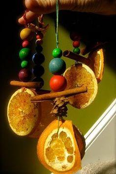 Solstice Ornaments, via the Blue Egg