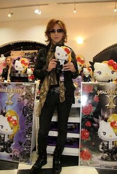 YOSHIKI :銀座サンリオに緊急来店  - violet_painのブログ - Yahoo!ブログ