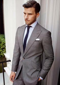 Mens Fashion Suits, Mens Suits, Men's Business Outfits, Preppy Men, Suit And Tie, Dapper, Beautiful Men, Gentleman, Suit Jacket
