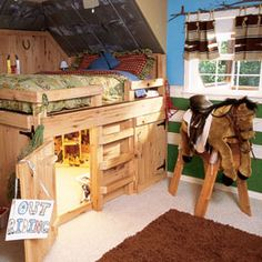Cute room for any little boy.