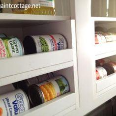 Organized Canned Food Storage {Kitchen Accessories} - Tip Junkie