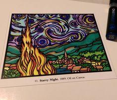 their entry to our Chameleon Starry Night contest Van Gogh Art, Chameleon, Night, Instagram Posts, Artwork, Color, Work Of Art, Auguste Rodin Artwork, Chameleons