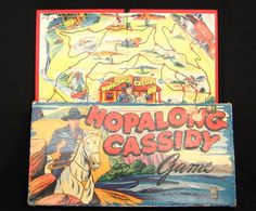 antique board games | MiltonBradley Hopalong Cassidy Board Game, Space 92, inventory 063, $ ...