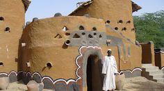 African Architecture and Design: Gaoui Village African Traditional Architecture