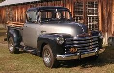 Vintage Trucks check the link.there is a red 47 chevy like my dad's and an early street rod like my brother has! Chevrolet Trucks, Gmc Trucks, Cool Trucks, Cool Cars, Chevrolet Apache, Antique Trucks, Vintage Trucks, Antique Cars, Classic Chevy Trucks
