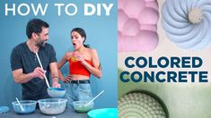 How to DIY Colored Concrete with Ben Uyeda and Rachel Metz