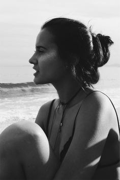 p&b portrait - Beach & Glitter