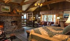 Visit our Waynesville NC mountaintop inn to enjoy amenities such as outdoor soaking tubs, saunas and fireplaces in a Smoky Mountain setting. Hotel Linen, Barn Siding, Romantic Room, Luxury Cabin, Sleeping Loft, Hotel Guest, Cozy Fireplace, Home Entertainment, Dream Bedroom