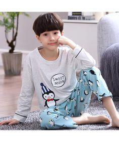 boys Cartoon long sleeve Cotton pajamas for autum. Pajamas For Teens, Cute Pajamas, Flannel Pajamas, Girls Pajamas, Comfy Pajamas, Boys Christmas Pajamas, Boys Christmas Outfits, Mens Silk Pajamas, Cotton Pyjamas