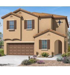 Dunhill Homes | Tuscany Village Master-Planned Community | Henderson Nevada Las Vegas Homes, Live In Style, 2 Story Houses, New Home Builders, Walk In Pantry, Beautiful Kitchens, House Floor Plans, Second Floor, Tuscany