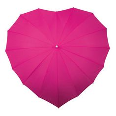 Heart Umbrella Hot Pink, 22€, now featured on Fab.