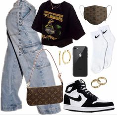 Skater Girl Outfits, Tomboy Outfits, Teen Fashion Outfits, Teenager Outfits, Casual Fall Outfits, Swag Outfits, Mode Outfits, Retro Outfits, Simple Outfits