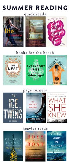 College Prep: Summer Reading List