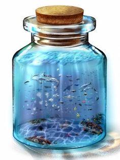 Bottle 'em up! Source: http://www.pixiv.net/info.php?id=2736 #pixivspotlight