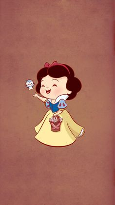 Snow White ★ Find more Cute Disney wallpapers for your #iPhone + #Android…