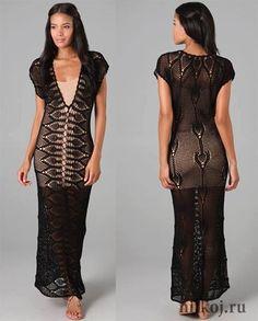Patrón #1094: Vestido Encaje a Crochet | CTejidas [Crochet y Dos Agujas]