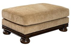 Porters Gate - Umber Ottoman I want this to go with the oversized chair! Living Area, Living Rooms, Oversized Chair, Chair And Ottoman, My Dream Home, Home Office, Home Furnishings, Home Furniture, Gate