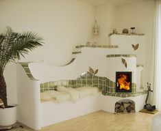 Stair Shelves, Earth Bag Homes, Cob Building, Tiny Living Rooms, Dome House, Interior Decorating, Interior Design, Earthship, White Rooms