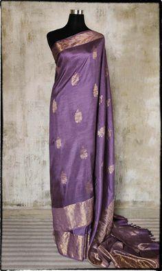 h28 Revival Kanjivaram Hand Woven Pure Silk Sari