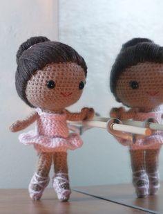 Crochet Pattern- Brisa the ballerina amigurumi doll. $6.50, via Etsy.